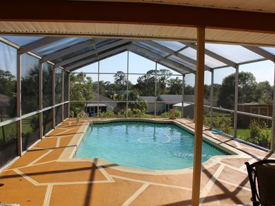 Photo for Luxurious 3 BR/ 2BA Private Pool Home Minutes to Weeki Wachee State Park