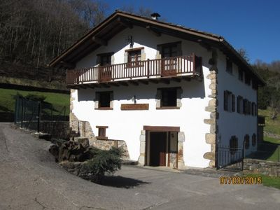 Photo for 4BR Cottage Vacation Rental in Oitz, Navarra