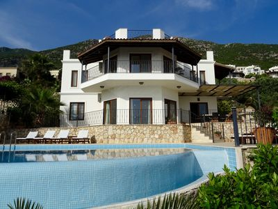 Photo for Luxury 4 Bed Villa With Private Pool & Panoramic View Of Kalkan Bay And Harbour