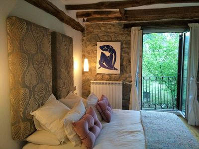 Photo for Stone house with a cozy decor 20 minutes from Donostia