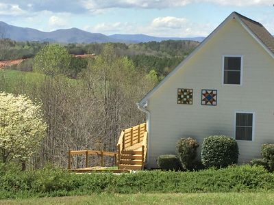 Photo for THE TRYON CHALET NEST- VIEWS, WINERIES & THE TRYON INTL EQUESTRIAN CENTER