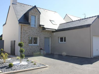 Photo for Rental new house Roscoff 100 m from the sea, 200 m from the center, 100 m thalasso