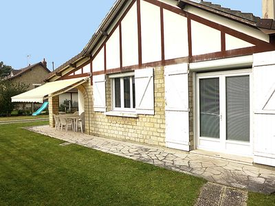 Photo for 3 bedroom Villa, sleeps 6 in Merville-Franceville-Plage with WiFi