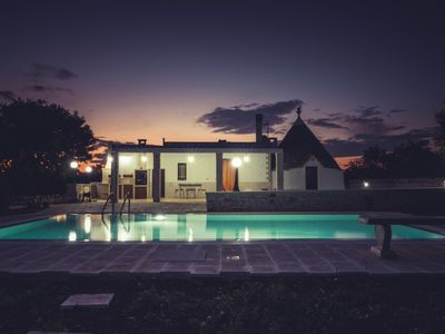 """Photo for """"TRULLO LA QUIETE"""" WITH PRIVATE POOL IMMERSED IN GREEN AT 4KM FROM THE UNESCO SITE"""