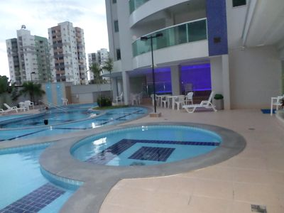 Photo for Come and enjoy what Caldas Novas has the best. Beautiful Flat w / Balcony Gourme