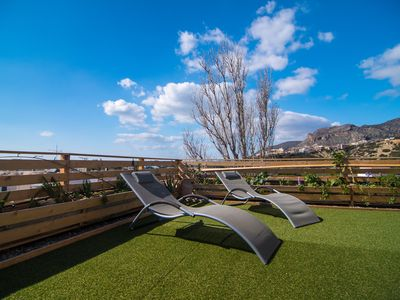 Photo for Paleohora ,top Roof garden home!