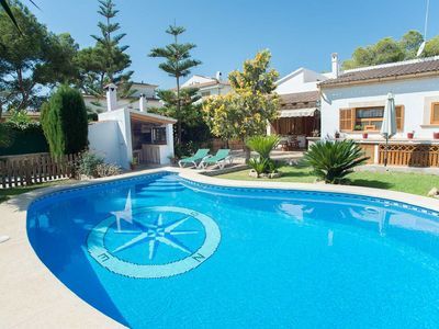 Photo for Casa Sa Rapita - AC, Private Pool (Child Safety Fence), perfect villa for beach-lovers, no car requi