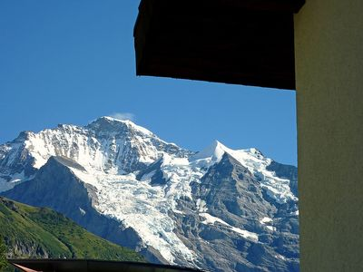 Photo for Apartment 639 m from the center of Lauterbrunnen with Internet, Balcony (38511)