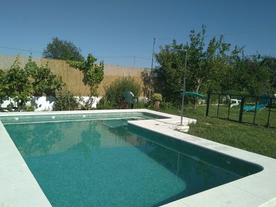 Photo for Seville, private garden and pool, cozy house 20 minutes from downtown