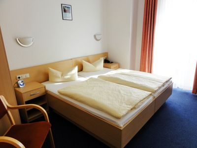 "Photo for DZ 05th Comfort with sea view and balcony - Hotel garni ""Meeresgruß"" ***"