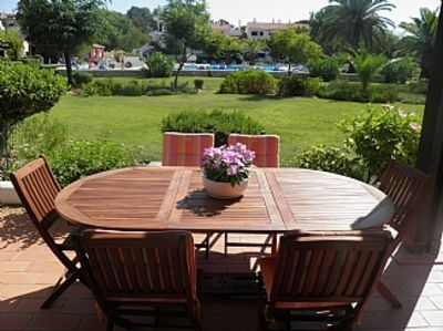 Photo for This gorgeous ground floor apartment overlooks the stunning Quinta Lagoon
