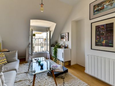 Photo for Charming apartment near Montmartre