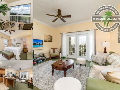 Photo for Heritage Charm | 3 bed Condo located in Reunion Resort with Amazing Views