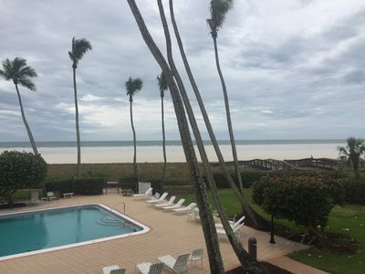 Photo for Direct beach front on the gulf, professionally decorated, totally updated, 2BR