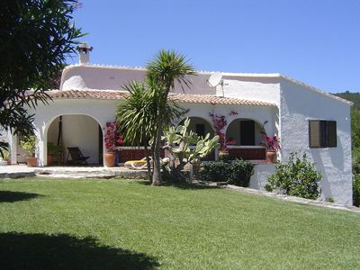 Photo for Beautiful villa on hillside in tranquil area with outstanding views at Oliva Bay