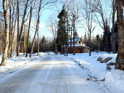 Private Timberframe Rustic Retreat in Pittsburg, NH
