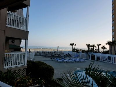 Photo for Newly Renovated Ocean View Unit! Right on the Beach!