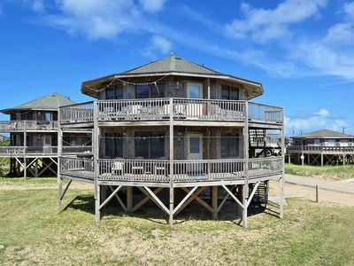 Photo for Beach Break Cottage- Excellent Ocean Views- Steps to Beach- Community Pool