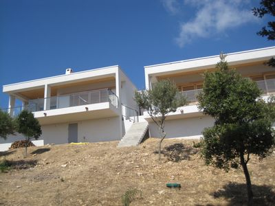 Photo for Architect's villa, 6 pers, 115m2, sea and mountain view (180 degrees)