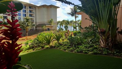 Photo for Ground Floor One Bedroom with Huge Play lawn! - Hokulani 108 Just Renovated!