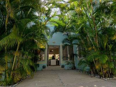 Photo for Traditional large house in Cozumel - Garden and Pool