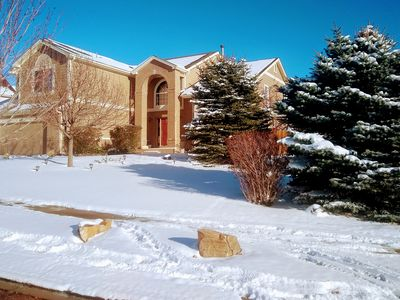 Photo for Unrivaled Location Home!!* Hot TUB*Minutes Away From  USAFA !!Cadet's  families
