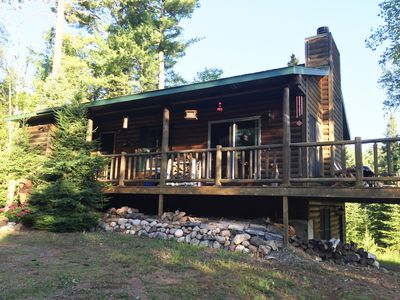 Photo for Private & Quaint Cabin in Mercer.  Close To Town With Many Northwoods Amenities.