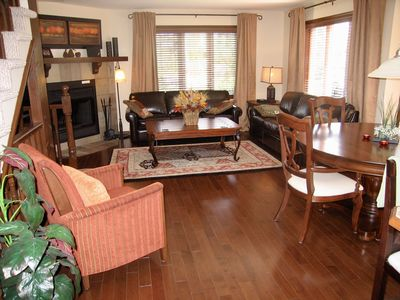 Photo for Affordable Award Winning Golf Chalet - AC, WiFi, Private Deck