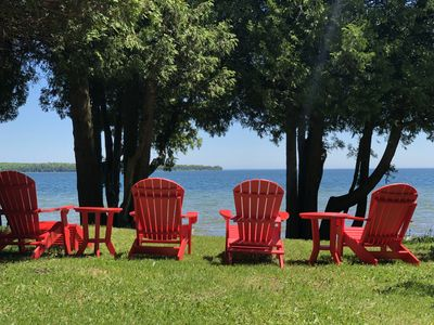 Photo for Spacious Lakefront Home Minutes From Sister Bay