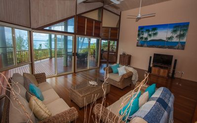 Luna Mission - Views to Dunk Island from Living Room