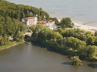Photo for Standard double room handicapped accessible - Strandhotel Seerose Kölpinsee