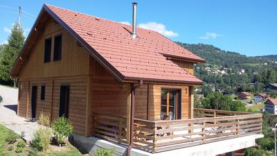 Photo for CHALET HIGH OF RANGE 2015 WITH SAUNA IN THE HEART OF NATURE