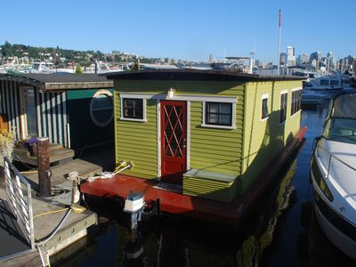 Photo for 1BR House Boat Vacation Rental in Seattle, Washington