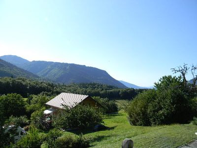 Photo for Lovely 44m² Garden Ground Lake and Mountains