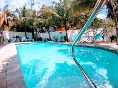 Photo for 15%OFF FAIRWEATER #2 ,5 MIN WALK TO BEACH,MODERN CONDO,POOL,WALK TO TIME SQUARE