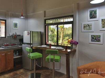 Studio Apartment. Volcano view from terrace.  HOT Breakfast included daily!