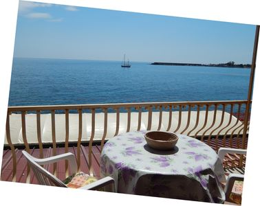 Photo for Panoramic Gulf Beachfront Taormina
