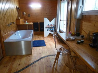Photo for Private bathroom + breakfast room, 5'centre Bayonne