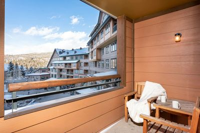 Watch the Gondola take off from your private deck