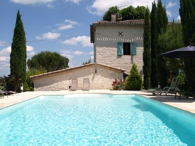 Photo for Charming Farmhouse With Private Pool and Views All Round