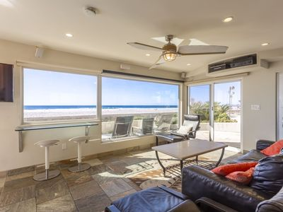 Photo for 15 ft. wide Oceanfront Window to Waves Floor to Ceiling Ocean views