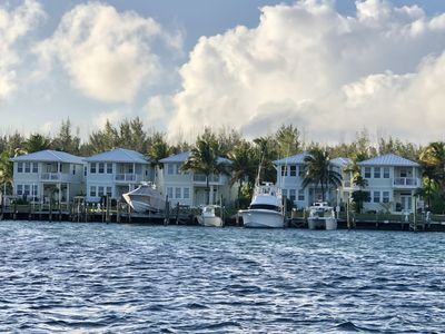 Photo for Tropical Waterfront retreat on Treasure Cay Marina