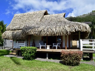 Photo for Polynesian Bungalow, 1 bdrm, 3 pax, with sea access