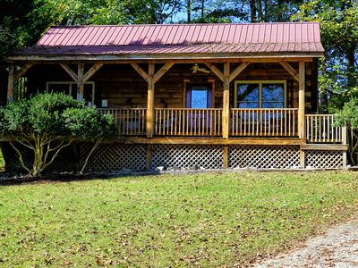 Photo for Blue Mountain Cabin: 2 BR / 1.5 BA cabin in Cherokee, Sleeps 4