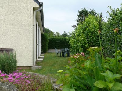 Photo for Dinard, family home, walled garden, close to beaches and downtown