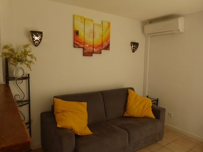 Photo for Holiday in the Sun in the quiet of the French Riviera. Apartment 3 ***