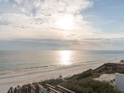 Photo for Gorgeous Nine Bedroom on 30A with Private Beach