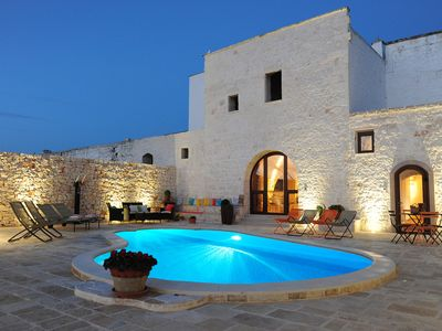 Photo for Traditional farmhouse with private pool