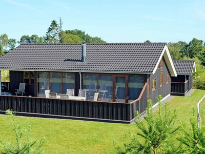 Photo for Charming Holiday Home in Glesborg with Sauna