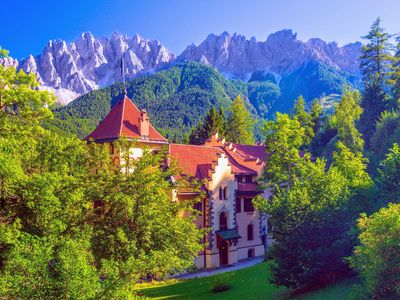 Photo for Valcastello Chateau with private park and tennis